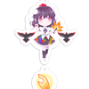 Aya Shameimaru - Four Seasons Keychain